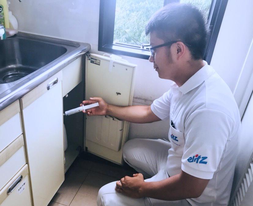 抗菌・除菌施工スタッフ 業務内容1